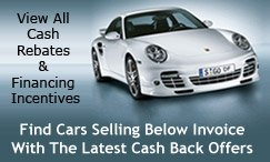 Cash Rebates & Financing Incentives